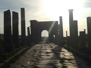 Timgad Arch