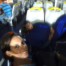 Crossing the Med in style – a beautiful night under the stars
