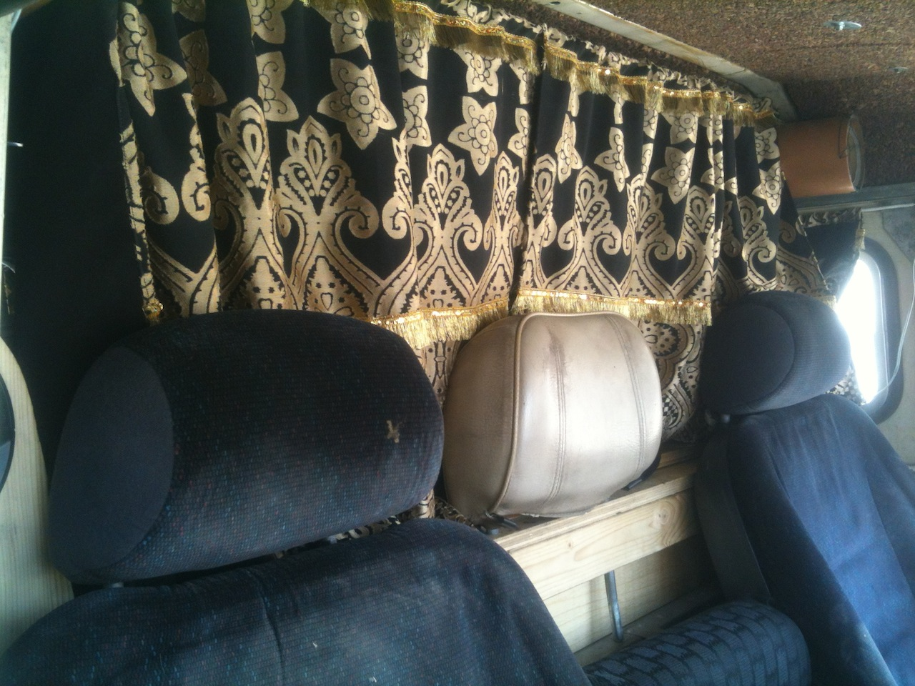 Libya curtains