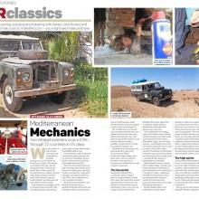 Landy in the spotlight!  In Land Rover Owner International magazine (December issue)