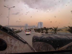 Ominous sky - saharan sand storm 2