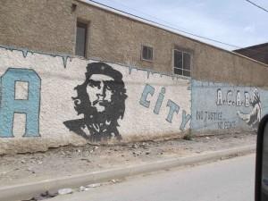 Roadside grafitti